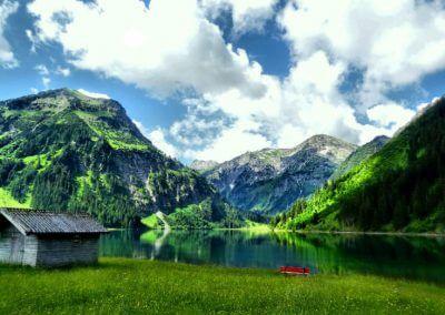 Vilsalpsee lake
